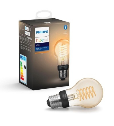 Philips Hue Bluetooth žárovka LED Filament E27 A60 7W 550lm 2200K 8718699688820