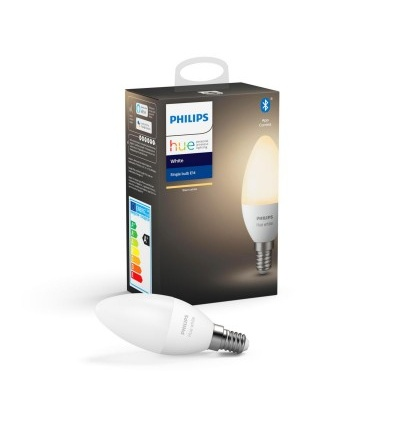 Philips Hue Bluetooth žárovka LED E14 5,5W 470lm 2700K 8718699671211
