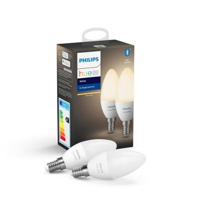 Philips Hue Bluetooth 2xžárovka LED E14 2x5,5W 2x470lm 2700K 8718699671273