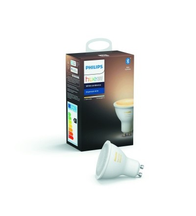 Philips Hue Bluetooth žárovka LED GU10 5W 350lm 2200-6500K 8718699628673