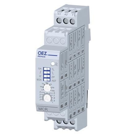 35568 Multifunkční časové relé MCR-08-001-A230