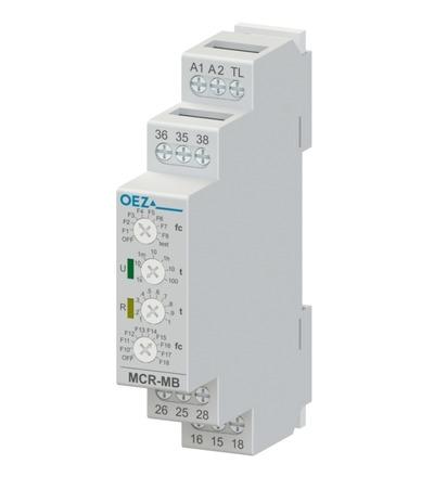 OEZ Multifunkční časové relé MCR-MB-003-UNI