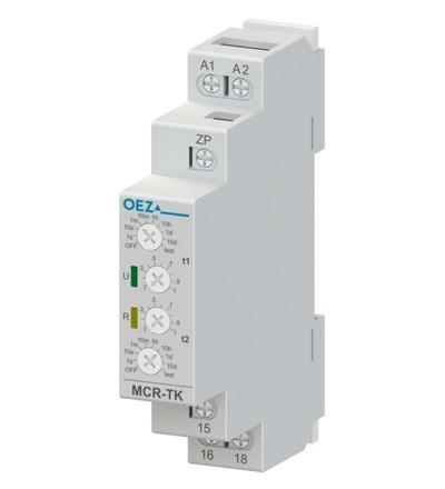 OEZ Taktovací časové relé MCR-TK-001-UNI - OEZ:43243