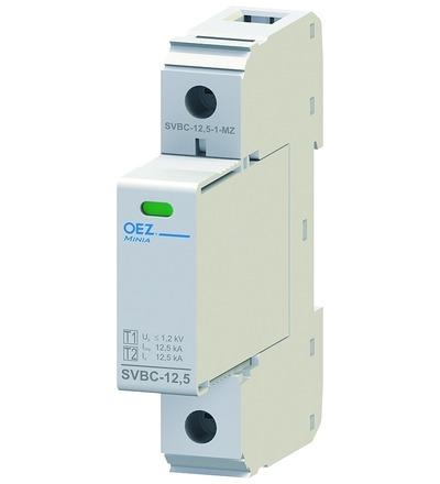 OEZ:40615 Kombinovaný svodič bleskových proudů a přepětí SVBC-12,5-1-MZ