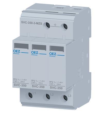 OEZ Svodič přepětí SVC-350-3-MZS