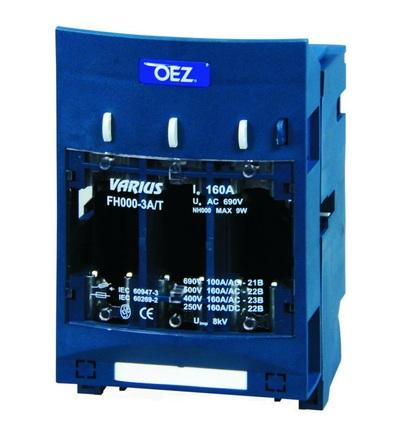 OEZ Pojistkový odpínač FH000-3A/T - OEZ:12362