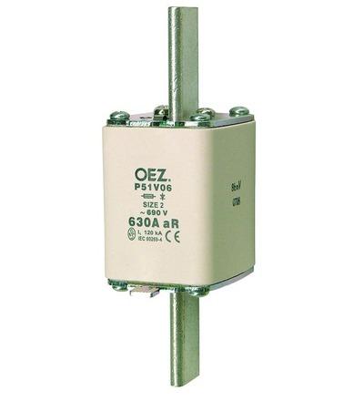 OEZ:35997 Pojistková vložka pro jištění polovodičů P51V06 630A aR