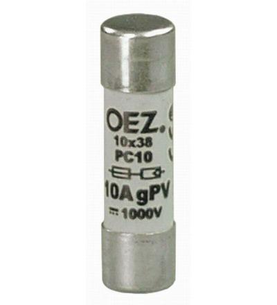 OEZ:41241 Pojistková vložka PC10 16A gPV