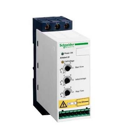 Schneider Electric ATS01N212QN Softstartér pro asynchonní motor, ATS01, 12A, 380..415V, 5,5 kW
