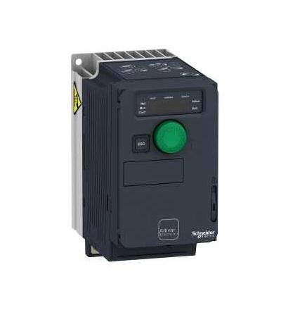 ATV320U07M2C Frekvenční měnič 0,75 kW, In = 4,8 A, 1 x 200 až 240 V, IP 20, třída 3C3 a 3S2, EMC filtr C2, compact, Schneider Electric