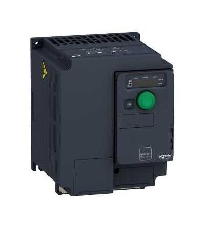 ATV320U40N4C Frekvenční měnič 4 kW, In = 9,5 A, 3 x 380 až 500 V, IP 20, třída 3C3 a 3S2, EMC filtr C2, compact, Schneider Electric