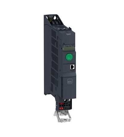 ATV320U07M2B Frekvenční měnič 0,75 kW, In = 4,8 A, 1 x 200 až 240 V, IP 20, třída 3C3 a 3S2, EMC filtr C2, book, Schneider Electric