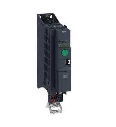 ATV320U40N4B Frekvenční měnič 4 kW, In = 9,5 A, 3 x 380 až 500 V, IP 20, třída 3C3 a 3S2, EMC filtr C2, book, Schneider Electric