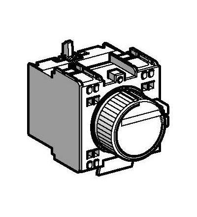 LADT43 TeSys D, blok pomocných kontaktů, 1Z+1V, pružné svorky, Schneider Electric