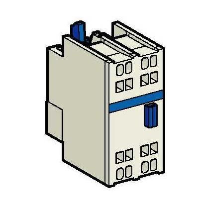 LADN203 TeSys D, blok pomocných kontaktů, 2Z, pružné svorky, Schneider Electric