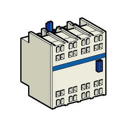 LADN403 TeSys D, blok pomocných kontaktů, 4Z, pružné svorky, Schneider Electric
