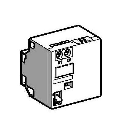 LAD6K10M Blok mechanického blokování TeSys, 220...240 V DC/AC 50...60 Hz, Schneider Electric