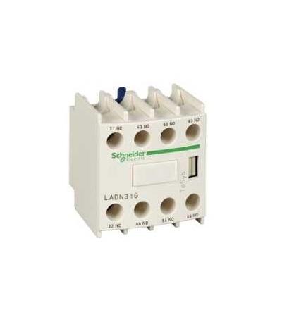 Schneider Electric LADN40TQ Blok pomoc. kontaktů 4Z