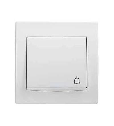 Schneider Electric AYA1700221 Anya, ovládač tlačítkový -10AX- orientační kontrolka, symbol zvonek, polar