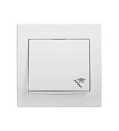 Schneider Electric AYA1800221 Anya, ovládač tlačítkový -10AX- orientační kontrolka, schody symbol, polar