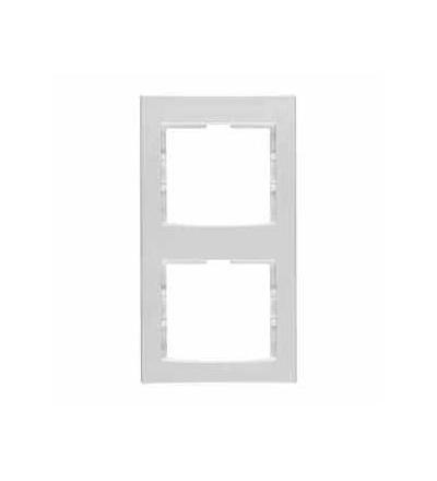 AYA5802721 Anya, vert.dvojnsob.rámeček, polar, Schneider Electric