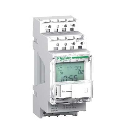 Schneider Electric CCT15491 Acti 9, IC100KP+, 1V prog. soumrakový spínač s čas.funkcí, 1...99000 lux