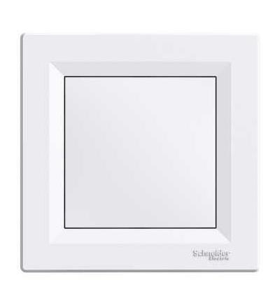 Schneider Electric EPH5603121 Asfora, blind cover, 1 gang, white