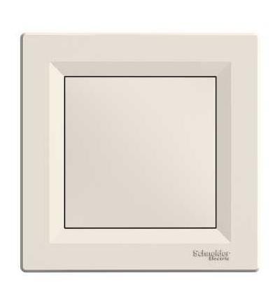 EPH5600123 Asfora, záslepný kryt, krémová, Schneider Electric