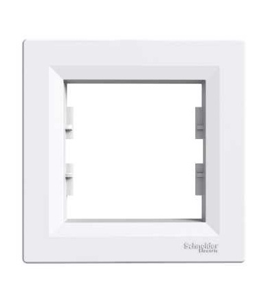 Schneider Electric EPH5800121 Asfora, rámeček jednonásobný, bílá