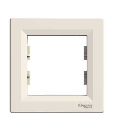 Schneider Electric EPH5800123 Asfora, rámeček jednonásobný, krémová