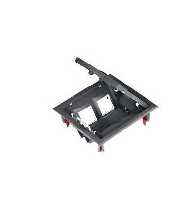 Schneider Electric ETK44108 Podlahová krabice, 4 moduly 45x45 nebo Unica