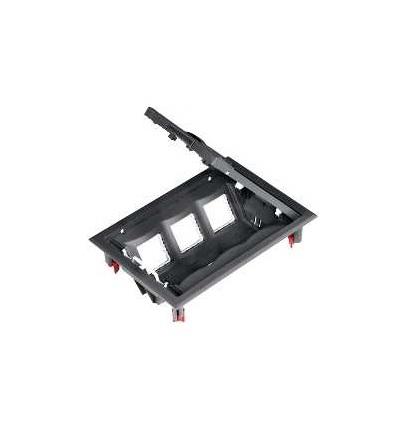 Schneider Electric ETK44112 Podlahová krabice, 6 modulů 45x45 nebo Unica