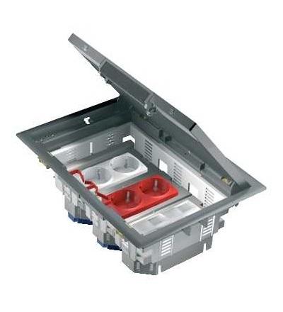 Schneider Electric ISM50536 OptiLine 45-Unica podlahová krabice-6mod.