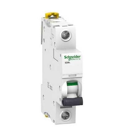Schneider Electric A9F94170 Modulární jistič iC60L, 1p, 0,5A, char. C