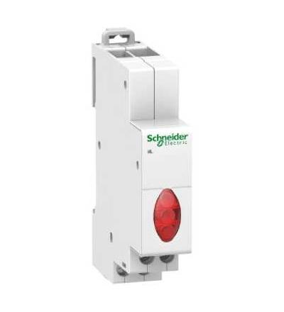 Schneider Electric A9E18327 Acti9 iIL trojfázová nap. signalizace, červená, 230-400 V AC