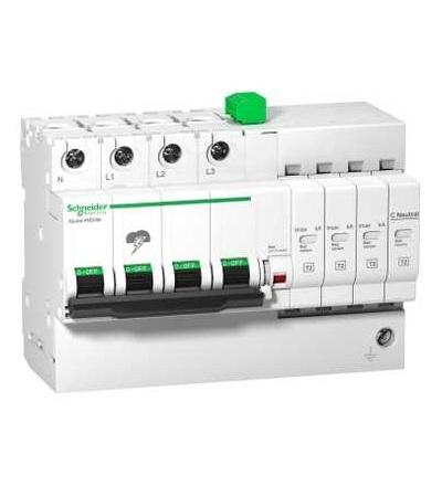 Schneider Electric A9L16300 IQuick PRD8r modulární svodič přepětí, 3p+N, 264V, s dálkovým přenosem