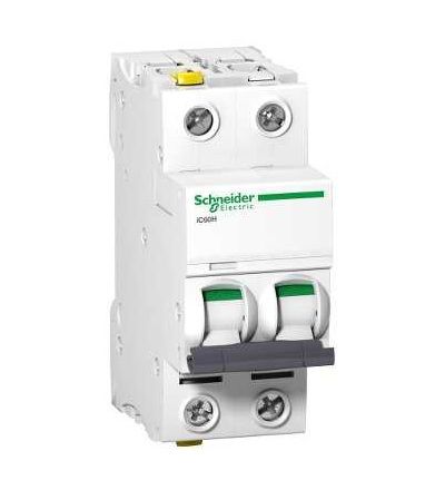 Schneider Electric A9F08270 Modulární jistič iC60H, 2p, 0,5A, char. D