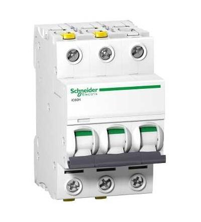 Schneider Electric A9F08370 Modulární jistič iC60H, 3p, 0,5A, char. D