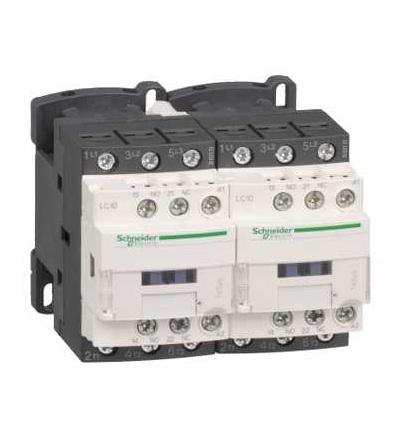 Schneider Electric LC2D38Q7 TeSys D reverzační stykač, 3p(3Z), AC-3, ? 440 V 38A, 380 V AC cívka