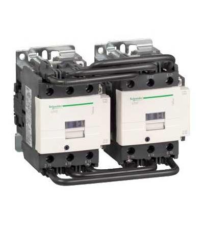 Schneider Electric LC2D95Q7 TeSys D reverzační stykač, 3p(3Z), AC-3, ? 440 V 95A, 380 V AC cívka