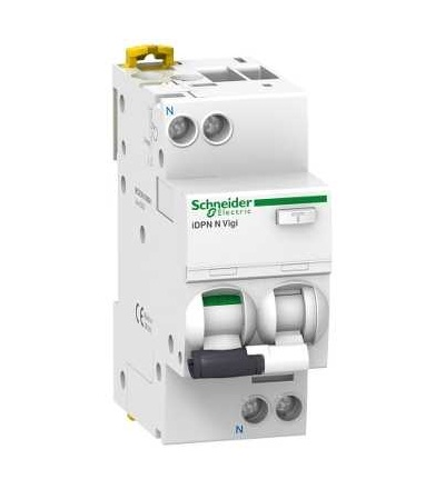 Schneider Electric A9D72616 Chránič s nadproudovou ochranou iDPN N Vigi, 1p+N, 16A, 100mA třída A