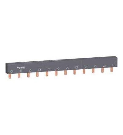 Schneider Electric A9XPM412 Propojovací lišta Miniline Acti 9, 4p, 12mod., 100A