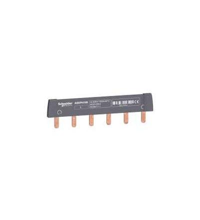Schneider Electric A9XPH106 Propojovací lišta, Acti 9, 1p, 6mod., 100A