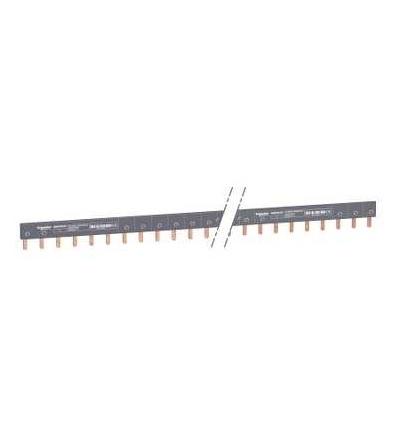 Schneider Electric A9XPH157 Propojovací lišta, Acti 9, 1p, 57mod., 100A
