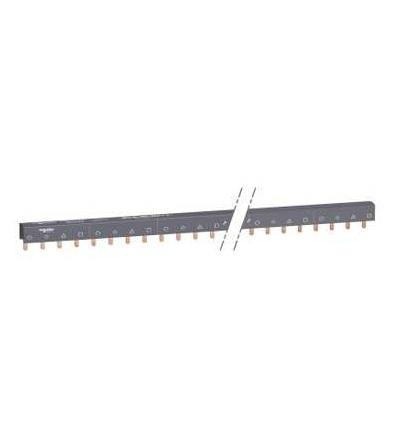 Schneider Electric A9XPH457 Propojovací lišta, Acti 9, 4p, 57mod., 100A
