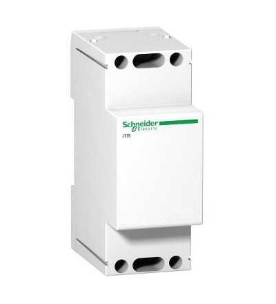 Schneider Electric A9A15216 Modulární zvonkový transformátor iTR, 230 V 50..60 Hz, výstup 8..12 V, 8 VA