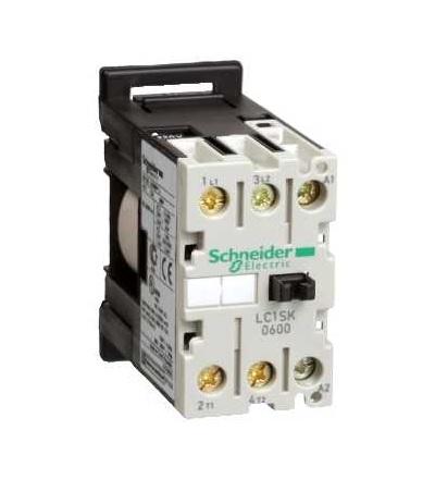 Schneider Electric LC1SK0600M7 TeSys SK mini stykač, 2p (2Z), AC-3 400V 6A, cívka 220 V AC