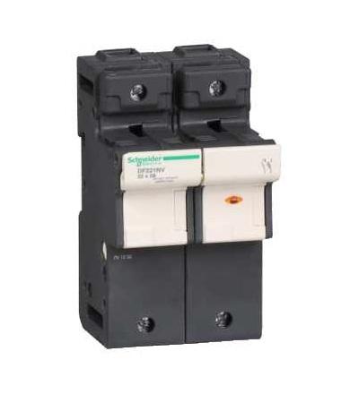 DF221NV TeSys poj.odpojovač 1p N 125A-velikost pojistky 22x58mm-se signalizací, Schneider Electric