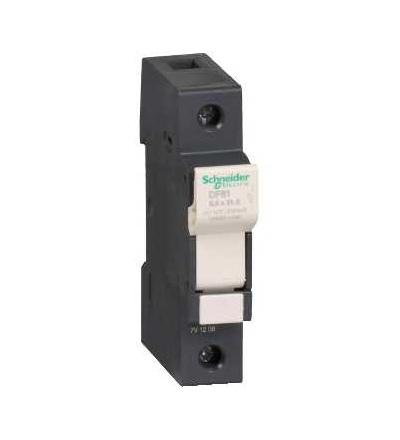 DF81 TeSys pojistkový odpojovač 1p 25A, velikost pojistky 8,5x31,5mm, Schneider Electric