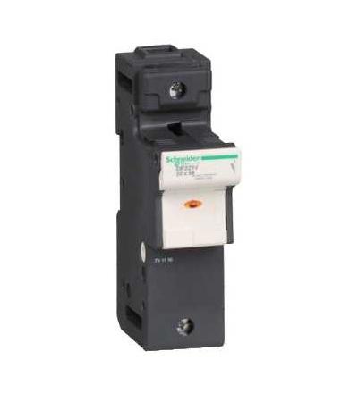 DF221V TeSys pojistkový odpojovač 1p 125A-velikost pojistky 22x58mm-se signalizací, Schneider Electric